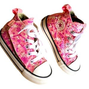 Converse Ctas Hi Flower Pot City Preschool Shoes